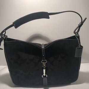 Coach Bag Signature Style Black